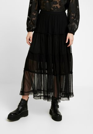 RENIA SKIRT - Maxirok - black