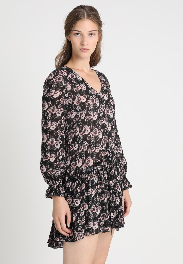 AllSaints - ALIA ODILE DRESS - Freizeitkleid - black