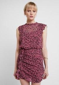 AllSaints - HALI ROAR DRESS - Tubino - pink - 0