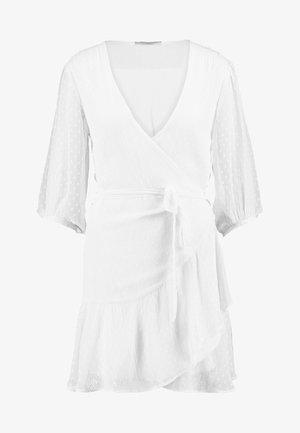 JADE DRESS - Vestido de cóctel - white