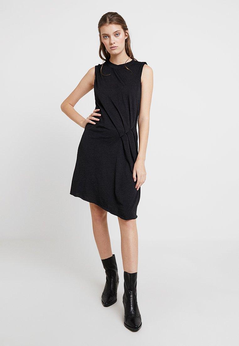 AllSaints - DUMA DRESS - Jerseykjole - dark night blue