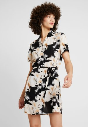 AMIA TALON DRESS - Skjortekjole - black