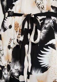 AllSaints - AMIA TALON DRESS - Skjortekjole - black - 5