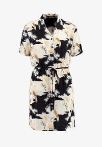 AllSaints - AMIA TALON DRESS - Skjortekjole - black - 4