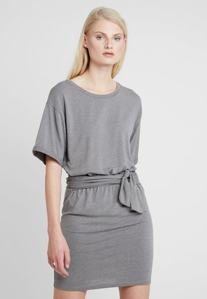 TUJA DRESS - Jerseykjole - grey marl