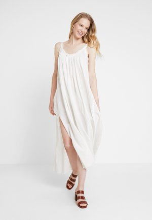 ROMEY LONG DRESS - Maxi šaty - chalk white