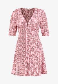 AllSaints - KOTA SCATTER DRESS - Vestito estivo - red - 5