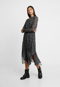 AllSaints - VALERIA WATERLEO DRESS - Kjole - khaki/green - 0
