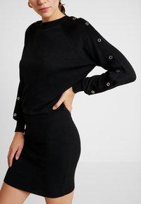 AllSaints - SUZIE EYELET DRESS - Jumper dress - black - 4