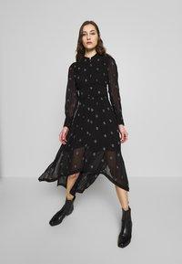 AllSaints - LIZA CYLA DRESS - Kjole - black - 1