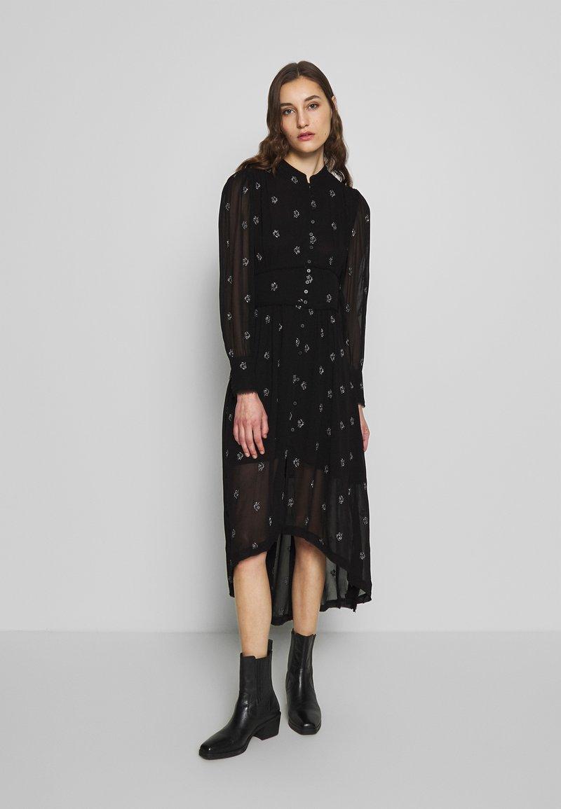 AllSaints - LIZA CYLA DRESS - Kjole - black