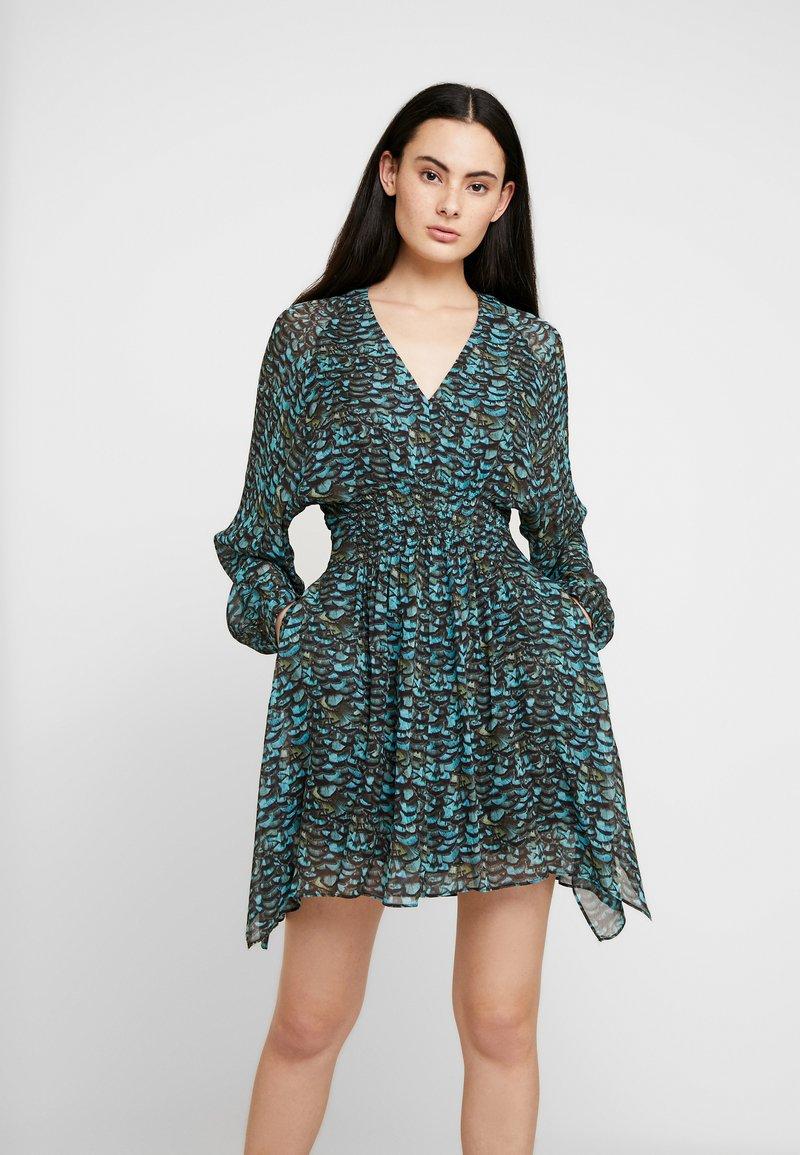 AllSaints - NICHOLA PLUME DRESS - Kjole - opal green