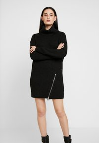 AllSaints - CLAUDETTE DRESS - Jumper dress - cinder black - 0