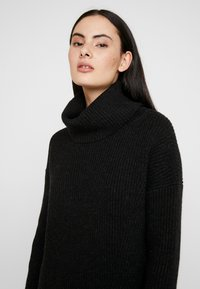 AllSaints - CLAUDETTE DRESS - Jumper dress - cinder black