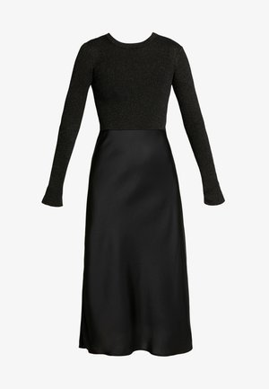 KOWLO SHINE DRESS - Day dress - black