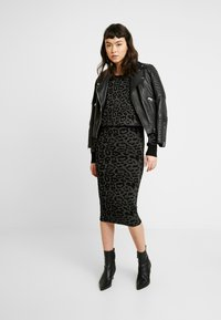AllSaints - ROXANNE DRESS - Etuikjole - charcoal grey - 2