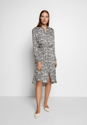 ANYA PLUME DRESS - Tubino - chalk white