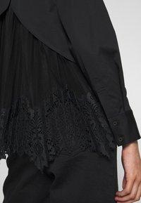 AllSaints - IRIS LACE SHIRT - Bluser - black - 5