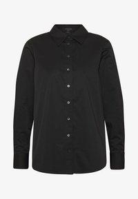 AllSaints - IRIS LACE SHIRT - Bluser - black - 4