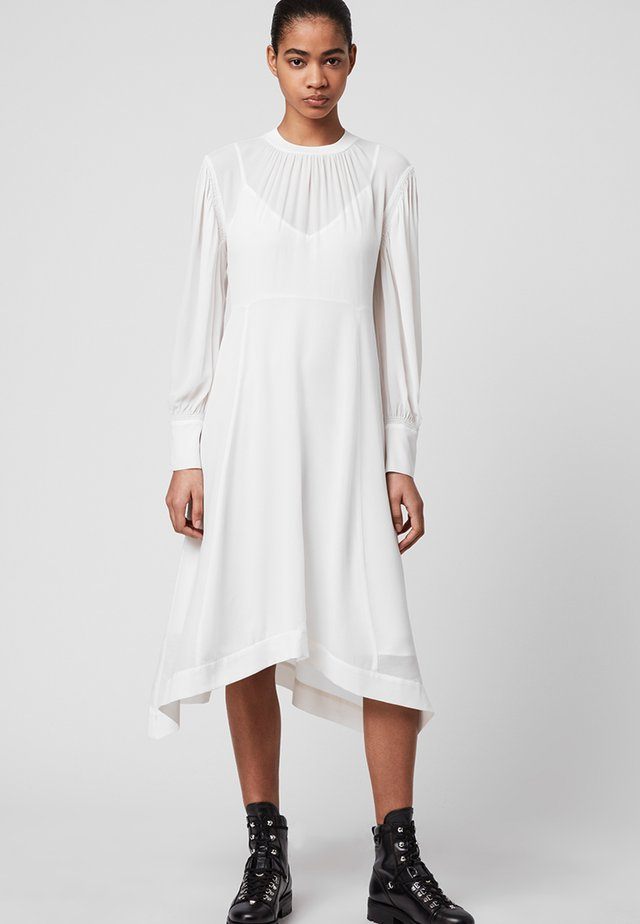 FAYRE DRESS - Korte jurk - white