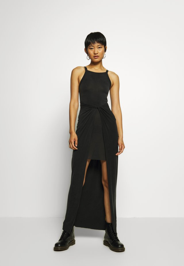 SAMI DRESS - Maxi-jurk - black