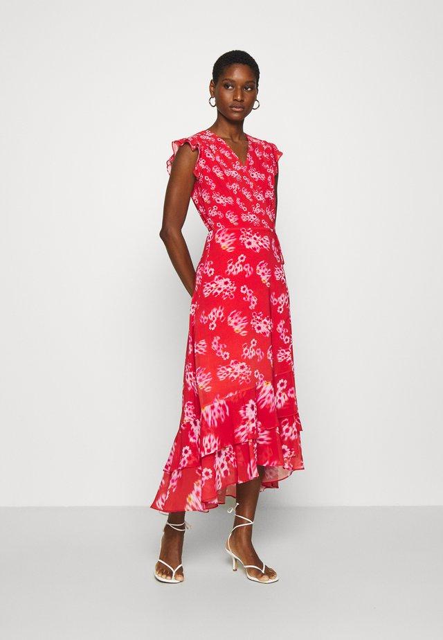DELA JASMINE DRESS - Sukienka letnia - red