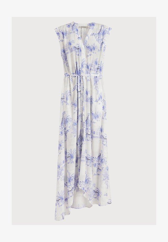 TATE TAJPUR DRESS - Sukienka koszulowa - blue