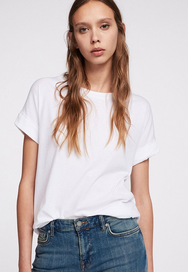IMOGEN BOY - T-shirt - bas - optic white