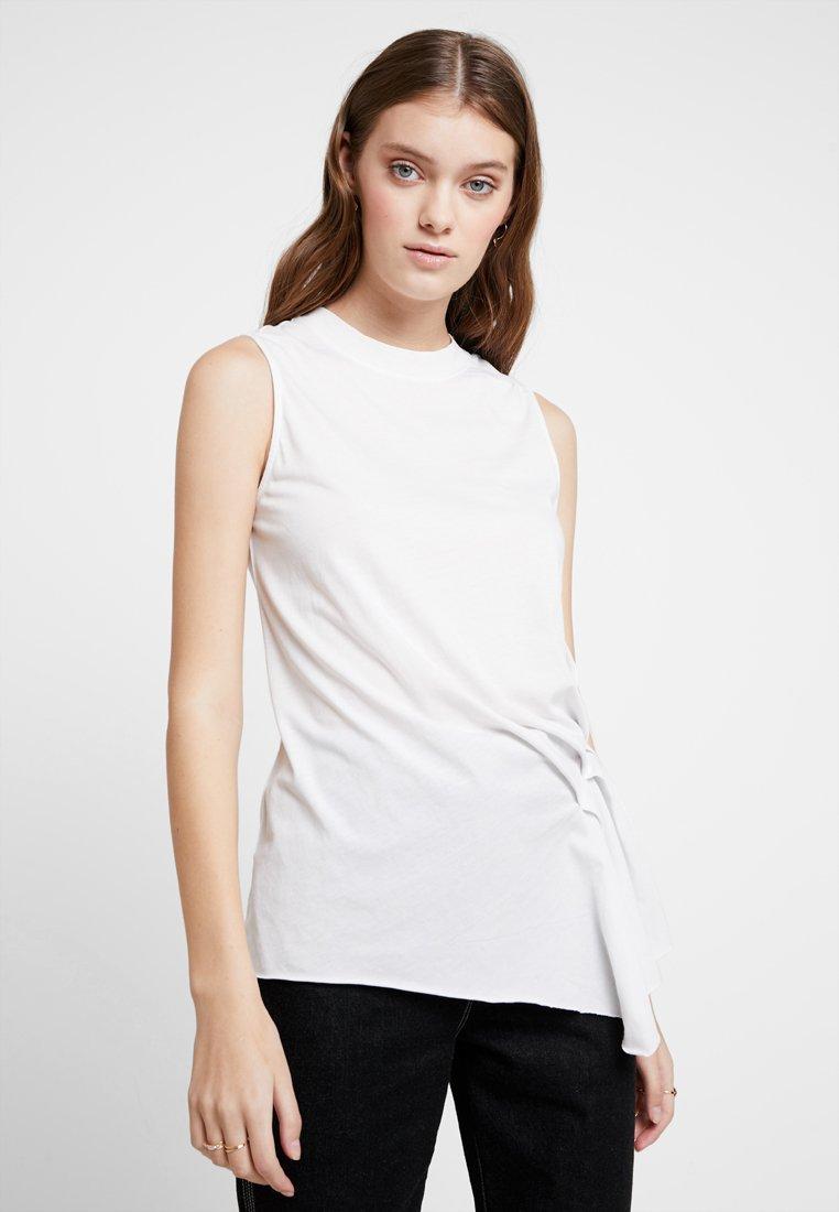 AllSaints - DUMA TANK - Top - smog white
