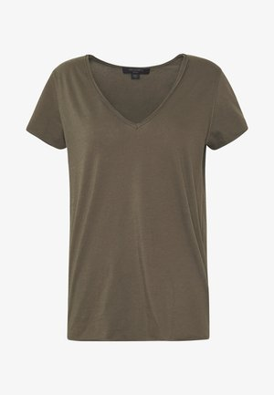 EMELYN TONIC TEE - T-shirts - khaki green