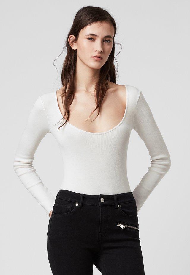 ADDIE  - Pitkähihainen paita - white