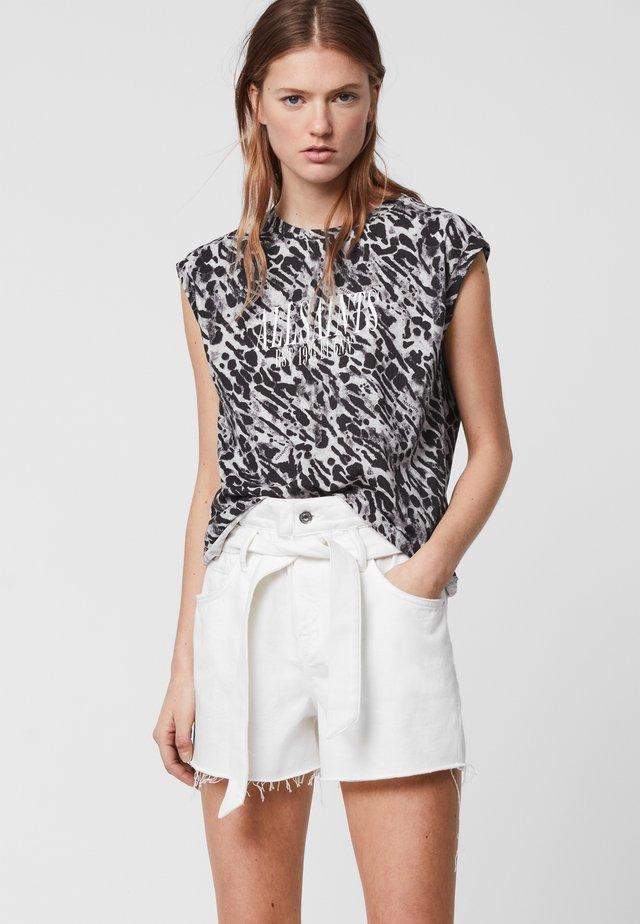 AMBIENT KIANA - T-shirt print - grey
