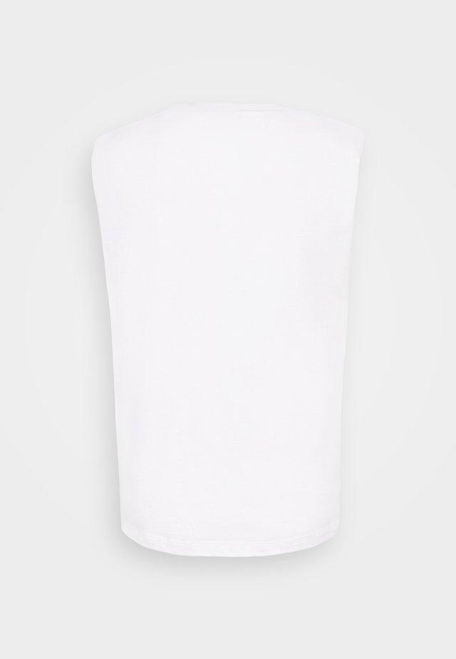 CONI TANK - Topper - optic white