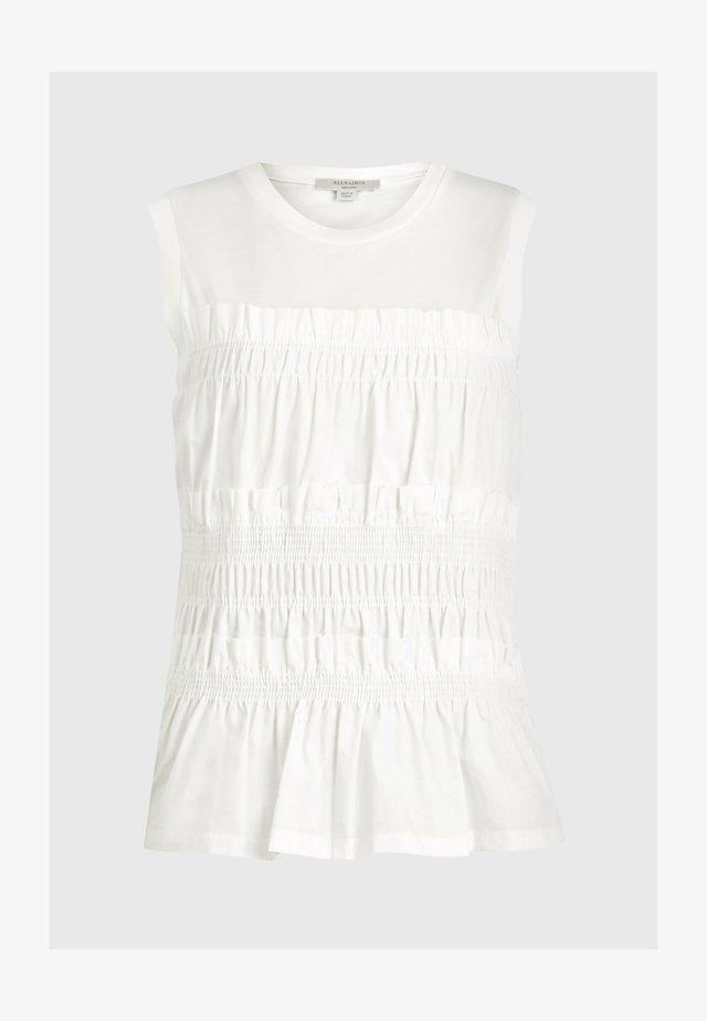 ASHLEIGH CAMI - Top - white