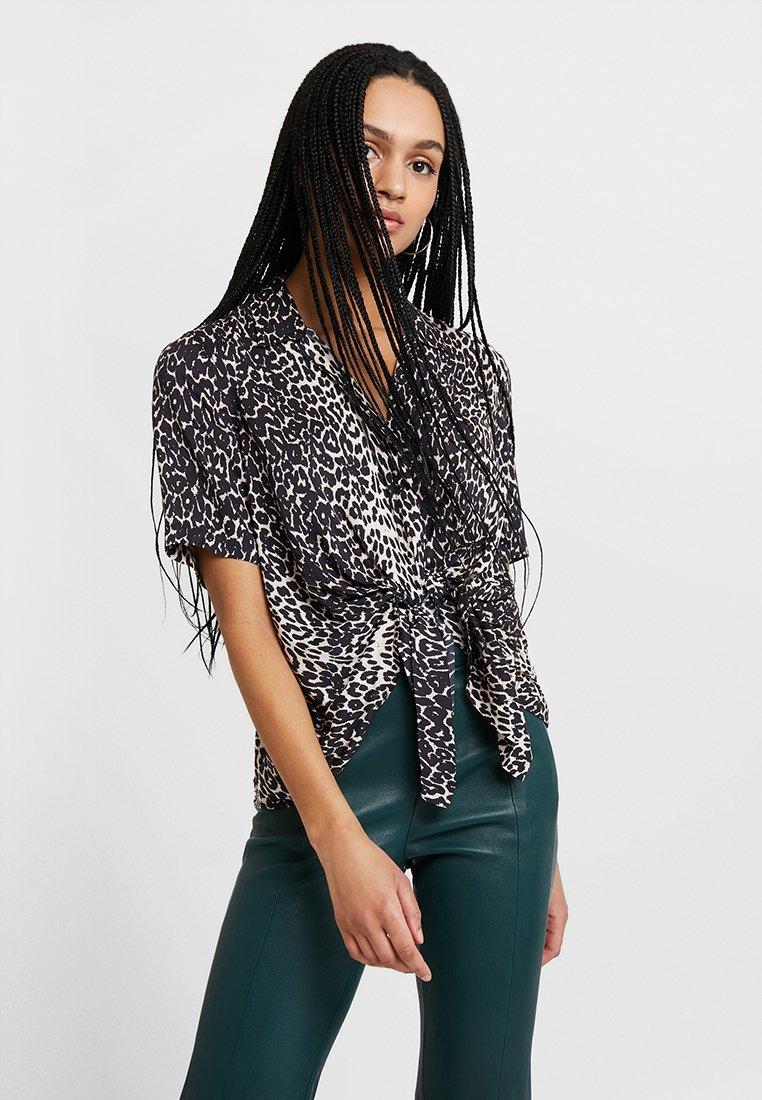 AllSaints - SIRENA FELINE - Bluse - black