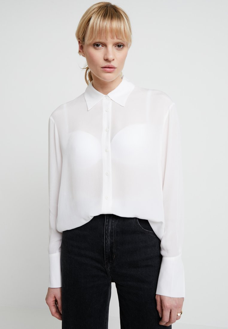 AllSaints - ANYA - Hemdbluse - chalk white
