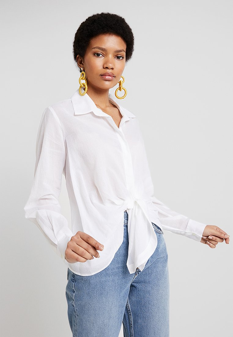 AllSaints - SIRENA - Button-down blouse - white