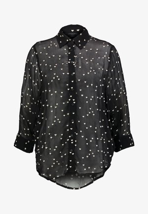 MARIANA HEARTS - Button-down blouse - black