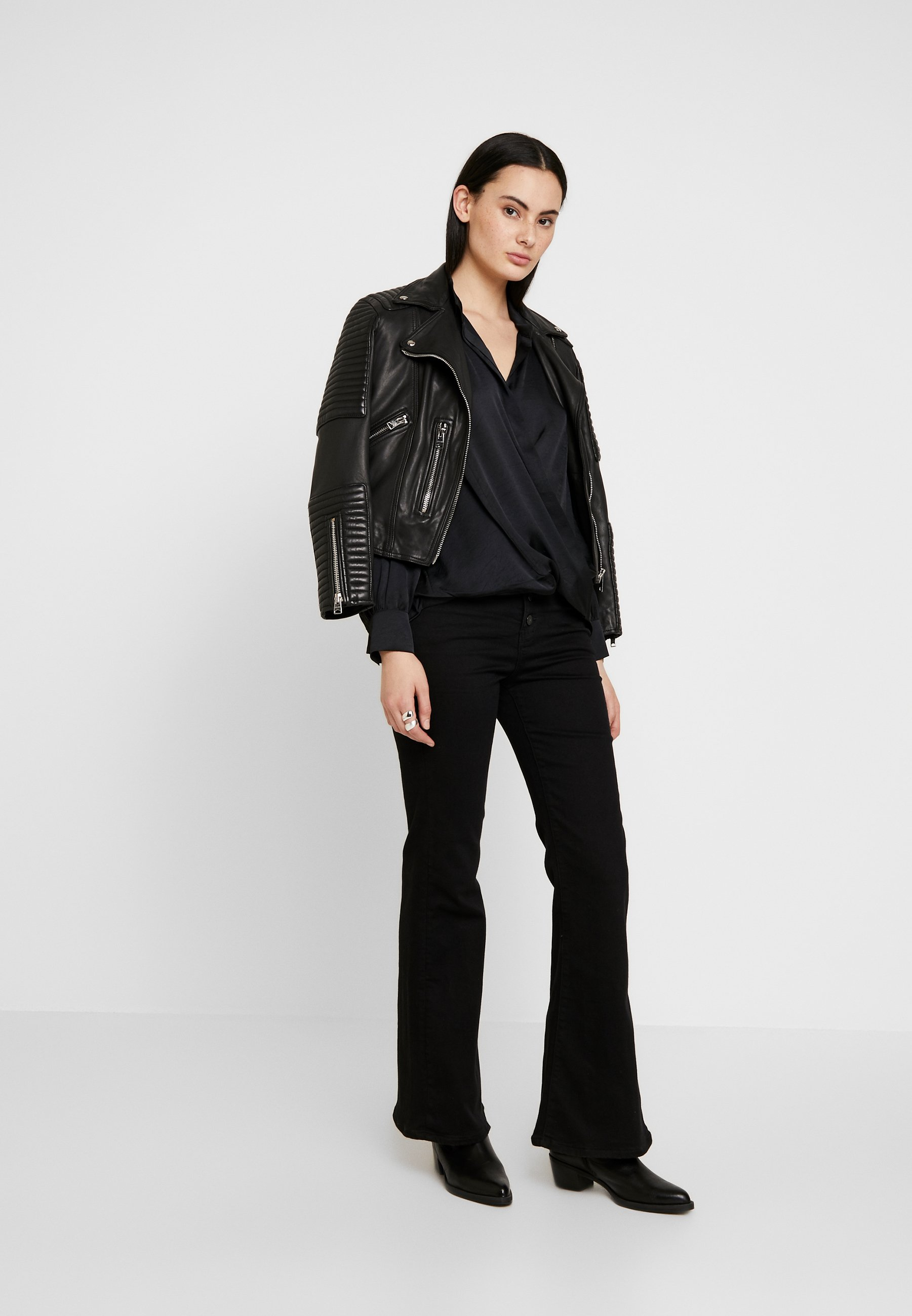AllSaints ADRIANNA - Blouse - black