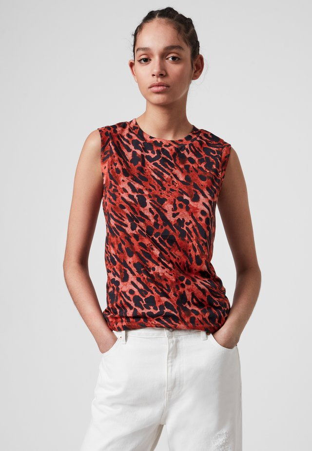 AMBIENT IMMY TANK - Top - red