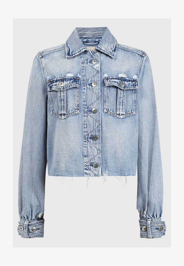 MAISY DENIM SHIRT JA - Denim jacket - blue