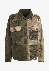 AllSaints - FINCH CAMO JACKET - Denim jacket - camo green - 4