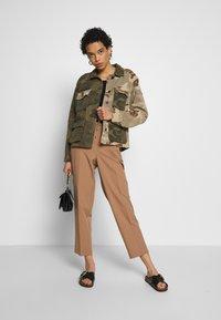AllSaints - FINCH CAMO JACKET - Denim jacket - camo green - 1