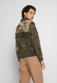 AllSaints - FINCH CAMO JACKET - Denim jacket - camo green - 2