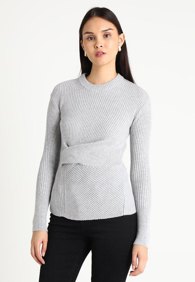 AllSaints - KRISTA JUMPER - Jersey de punto - grey melange