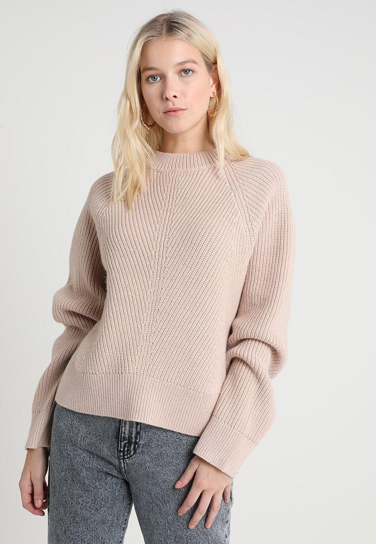 AllSaints - SYLVIE JUMPER - Strickpullover - nude pink