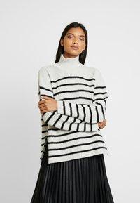 AllSaints - MELODY JUMPER - Jersey de punto - white/black - 0