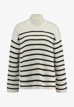 MELODY JUMPER - Sweter - white/black