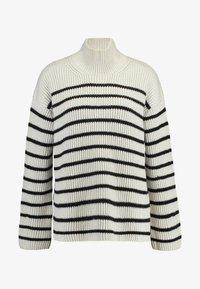 AllSaints - MELODY JUMPER - Jersey de punto - white/black - 4