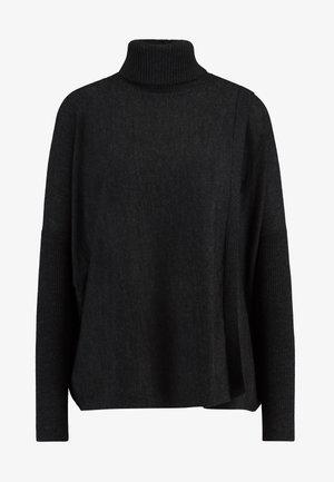 KOKO WRAP JUMPER - Sweter - black